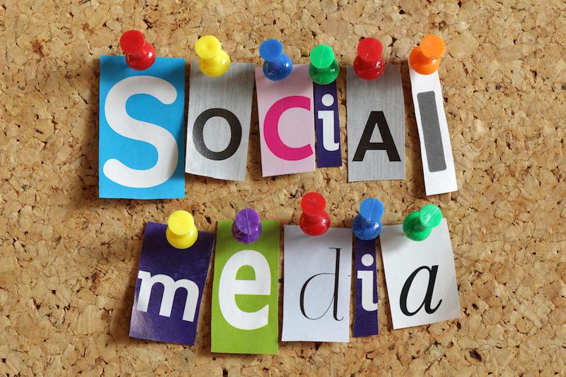 social media pinnwand